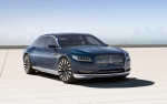 This product image provided by the Ford Motor Co. shows the new Lincoln Continental concept. Thirteen years after the last Continental rolled off a Michigan assembly line, Ford Motor Co. is debuting the new Continental in concept form at the New York Auto Show on Monday, March 30, 2015. (AP / Ford Motor Co.)