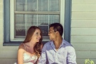 Solomon Chau, 26, is pictured with his fiancee, Jennifer Carter.