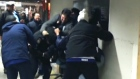CTV Toronto: Violent clash at Union Station