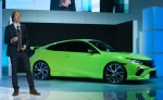 10th-generation Honda Civic Concept (photo: Jerrold Litwinenko/Autofocus)