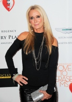 TV personality Kim Richards arrives at the 20th annual Race to Erase MS event in Los Angeles in this May 3, 2013 file photo. (AP / Invision / Jordan Strauss)