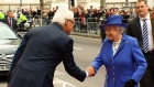 Queen Elizabeth arrives at Canada House