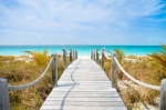 Providenciales, in the northern Caribbean Sea, has been named the world's most beautiful island. (Shutterstock)