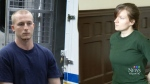 Blake Leggette and Victoria Henneberry pleaded guilty in a Halifax court, on Wednesday, April 22, 2015.