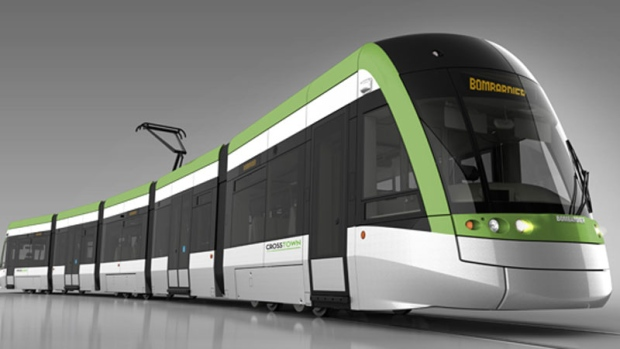 The Finch West LRT will add 11 kilometres of new transit along Finch Avenue from the planned Finch West subway station at Keele Street to Humber College. (Metrolinx)