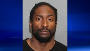 Andre Stubbs, 33, has been arrested in a human trafficking investigation. (Toronto Police Service)