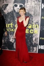 Courtney Love attends the 'Kurt Cobain: Montage of Heck' documentary premiere in Los Angeles on April 21, 2015. (Broadimage/REX Shutterstock (4701191c)