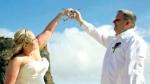 Rescue chopper Malibu dream wedding