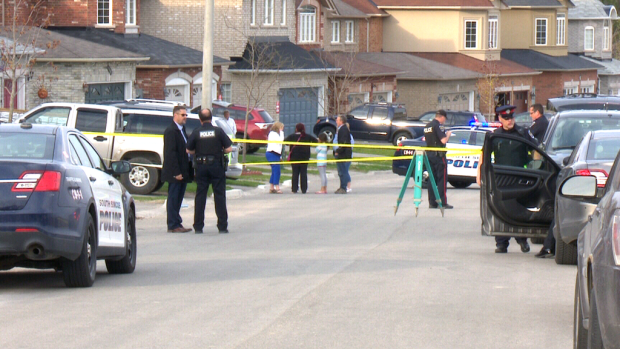 This photo shows Fox Hill Street in Innisfil, Ont. where a 5-year-old boy was killed by a car in his driveway on May 5.
