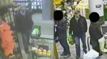 Security camera footage appears to show a man taking a purse belonging to a blind woman in Halifax.