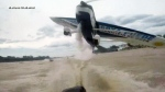 Plane nearly collides with boat in Argentina