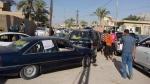 Civilians flee Ramadi, Iraq, on May 18, 2015. (AP)