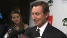 Wayne Gretzky speaks to reporters in Toronto on Wednesday, May 20, 2015.