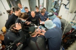 A team of Vancouver Aquarium and U.S. experts performs groundbreaking emergency surgery on Hana, a Pacific white-sided dolphin suffering from a severe gastrointestinal disorder. (Supplied Photo Vancouver Aquarium / The Canadian Press)