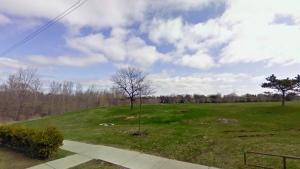 Police are investigating after a man's body was found in a Toronto park Monday morning. (Google Street View)