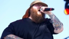 Action Bronson performs at the 2015 Coachella Music and Arts Festival on Friday, April 10, 2015, in Indio, Calif. (Rich Fury / Invision / AP)