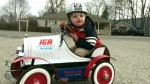 Pedal car stolen from front porch