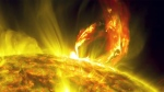 Extended: Massive solar eruption
