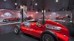 There is a large area dedicated to racing cars at the new Alfa Romeo museum in Arese, Italy. (©Fiat)