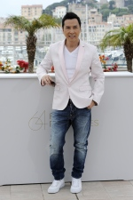 Chinese actor Donnie Yen is photographed at the 64th Cannes Film Festival in 2011. (AFP  / Anne-Christine Poujoulat)
