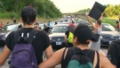 CTV Toronto: Protesters shut down traffic