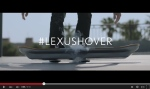 The Lexus Hoverboard is seen in this screenshot from a Lexus YouTube video. (Lexus / YouTube)