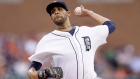 Detroit Tigers starting pitcher David Price throws during the first inning of a baseball game against the Baltimore Orioles, Saturday, July 18, 2015, in Detroit. (Carlos Osorio / THE CANADIAN PRESS/ AP)