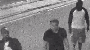 Police have been searching for six men who are wanted for the assault on the boy, who remains in hospital.
