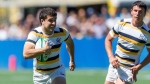 Canadian rugby sevens star Andrew Battaglia plays for the University of California Golden Bears in this undated handout photo. THE CANADIAN PRESS/HO - University of California Golden Bears, Milton Wong