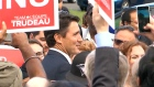 Justin Trudeau campaigns in Mississauga