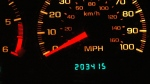 Odometer pictured on Jan. 28, 2006. (Mike Musielski / AP)