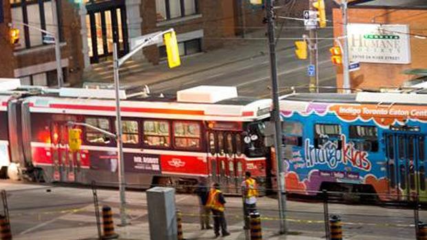 3 streetcars collide on Queen Street   CTV Toronto News