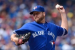 Toronto Blue Jays' starting pitcher Mark Buehrle throws against the Tampa Bay Rays during American League action in Toronto on Sept. 27, 2015. (Frank Gunn / The Canadian Press)