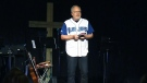 Calgary pastor preaches for Blue Jays
