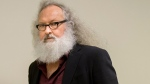 Actor Randy Quaid arrives at his Immigration and Refugee Board hearing in Montreal, Thursday, Oct. 8, 2015. (Peter McCabe / THE CANADIAN PRESS)