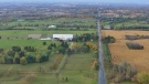 Get a bird&#39;s-eye view of the full effects of fall in the Toronto area with images from the CTV News Toronto chopper. <br><br> A field is seen in the Toronto area from the CTV News chopper on Tuesday, Oct. 20, 2015.