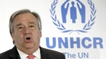 United Nations High Commissioner for Refugees Antonio Guterres speaks at an event in Tokyo on Wednesday, Nov. 25, 2015. (AP / Eugene Hoshiko)