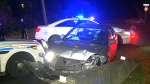 CTV News Channel: Suspects rammed cruiser: police