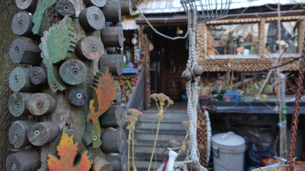 A cork-decorated Toronto home has drawn attention from around the globe. 