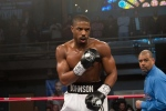 """This photo provided by Warner Bros. Pictures shows, Michael B. Jordan as Adonis Johnson in Metro-Goldwyn-Mayer Pictures', Warner Bros. Pictures' and New Line Cinema's drama """"Creed,"""" a Warner Bros. (Barry Wetcher / Warner Bros via AP)"""