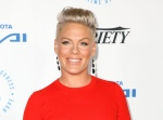 Pink arrives at the Autism Speaks to LA Celebrity Chef Gala in Santa Monica, Calif., Oct. 8, 2015. (Rich Fury / Invision)
