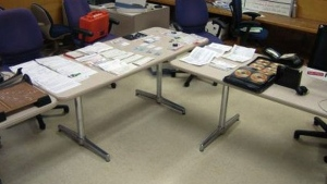 Toronto police are warning the public to 'be vigilant' after uncovering a fraud lab in the city.