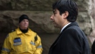 Former CBC radio host Jian Ghomeshi arrives at a Toronto court for day five of his trial on Monday, Feb. 8, 2016. THE CANADIAN PRESS/Chris Youn