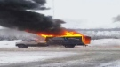 MyNews: Explosion from truck engulfed in flames