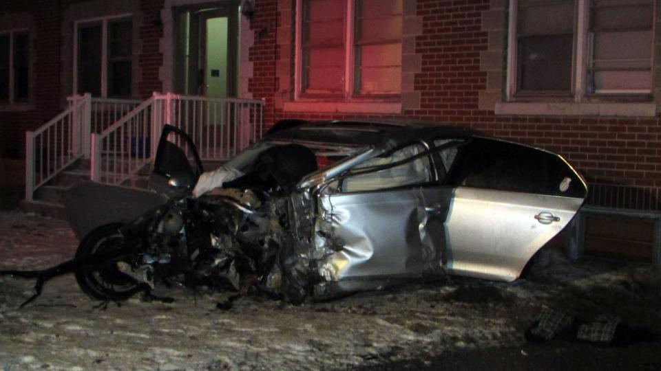Niagara Ontario Car Crash
