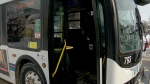 Verbal altercation on bus turns physical