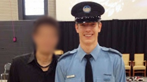 26-year-old Thierry Leroux has been identified by Quebec police as the officer killed in the line of duty while responding to a domestic dispute (Source: Facebook).