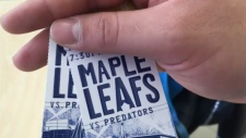 Lost Toronto Maple Leafs tickets