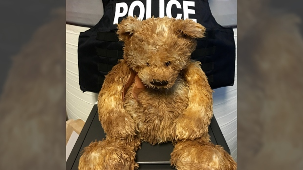 Police searching for teddy's owner