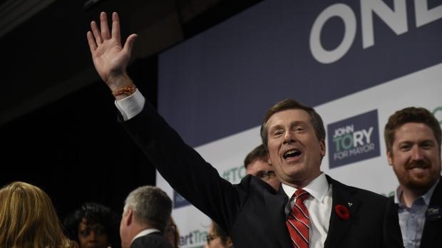 john tory, election, mayor
